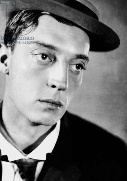 Buster Keaton (1895-1966) comic Actor, ici dans les années 20