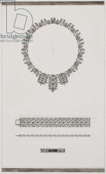 Design: necklace and bracelet (pencil, ink & w/c on paper)