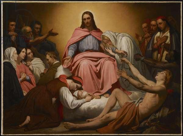 Christus Consolator, 1851 (oil on canvas)