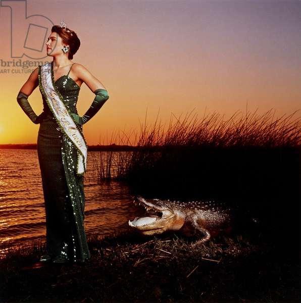 Gatorfest Queen, 1989 (silver dye bleach print)