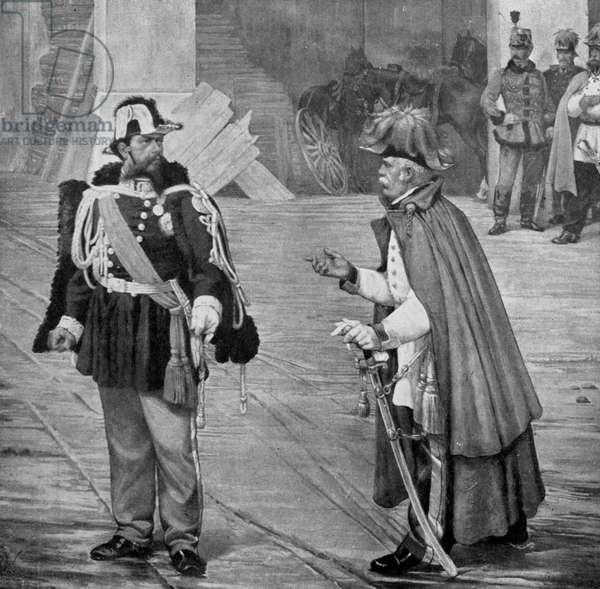 Victor Emmanuel and Count Radetzky