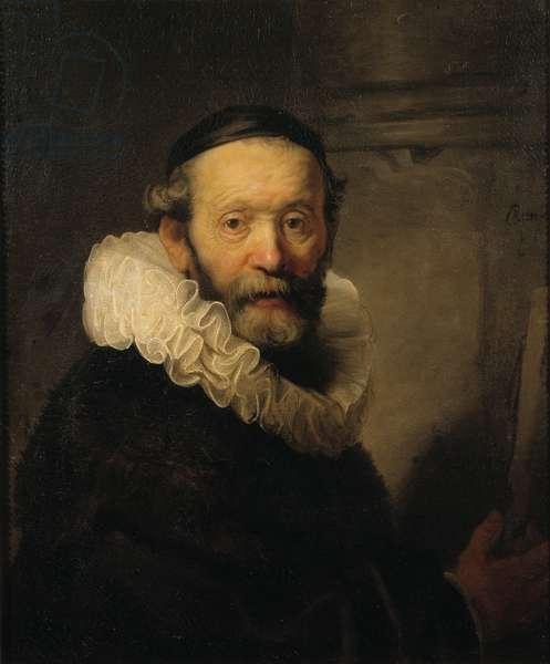 The Preacher Johannes Uttenbogaert, c.1633 (oil on canvas)