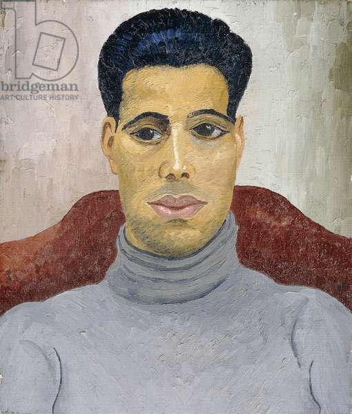 Arab Boxer, 1936 (oil on canvas)