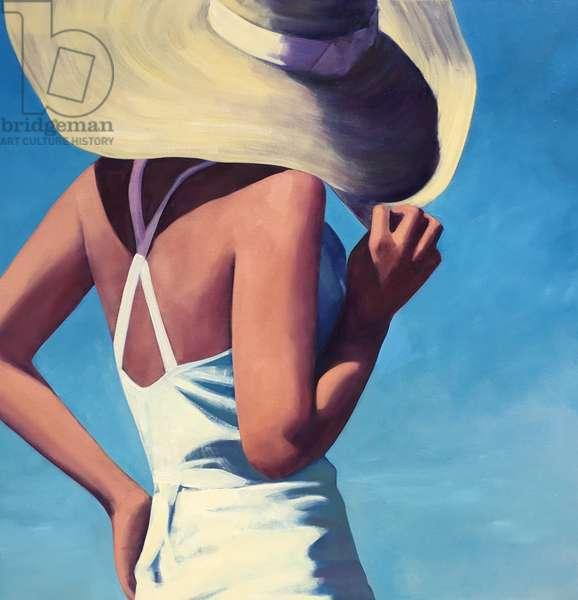 Sunlight, 2017, (oil on canvas)