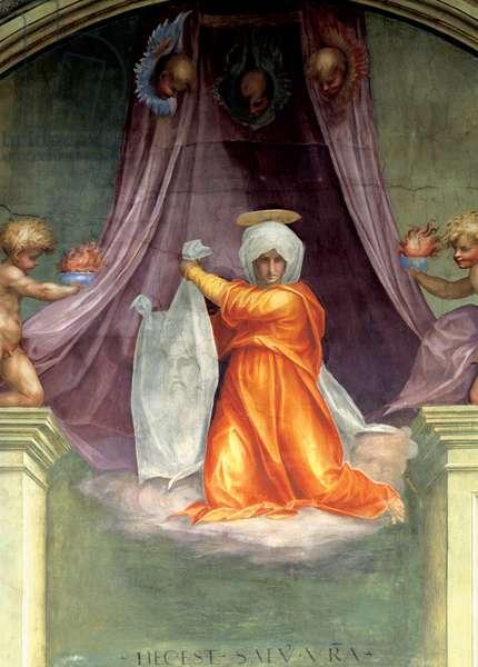 Santa Maria Novella: decoration of the Cappella del Papa (Pope's Chapel), 1515 (fresco)