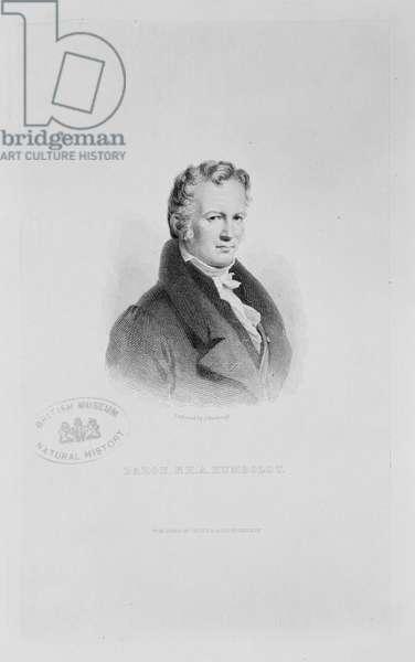 Alexander von Humboldt (1769-1859)