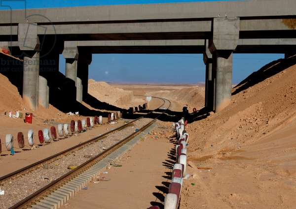 Railway in Saudi Arabia (photo)
