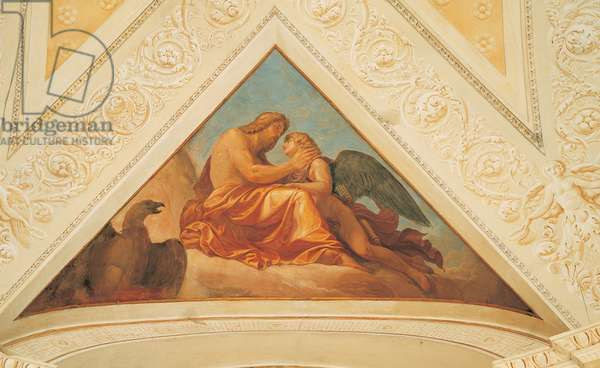 Story of Cupid and Psyche, 1798 (fresco)