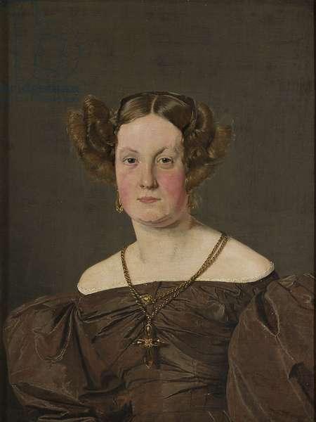 Mrs Th Petersen, nee Roepstorff, 1833 (oil on canvas)