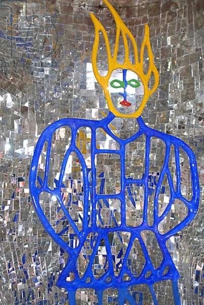 Garavicchio, the tarot garden designed by the artist Niki de Saint Phalle