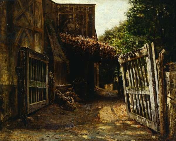 Capodimonte, 1865, by Alceste Campriani (1848-1933), oil on canvas, 41x52 cm.
