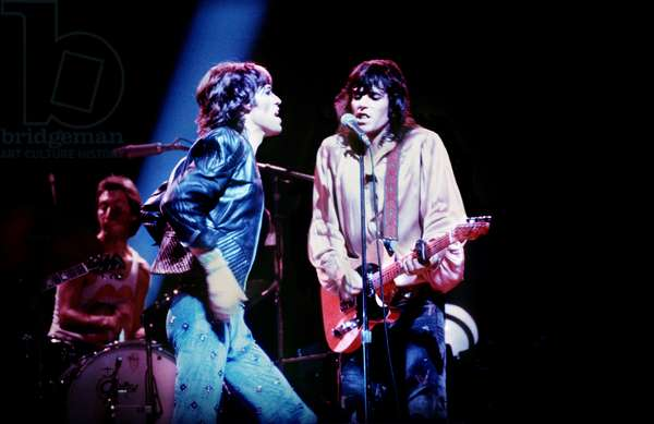 Rolling Stones performing -