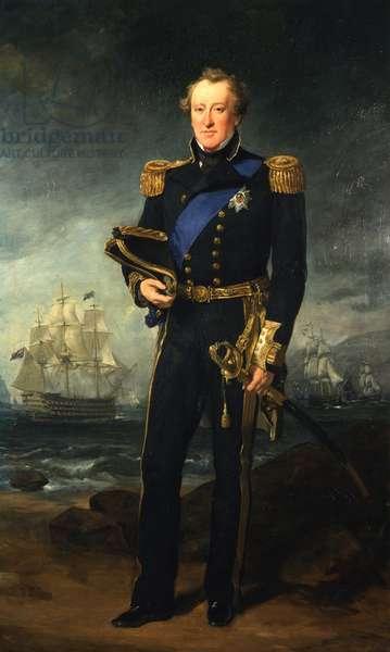 Portrait of Algernon, 4th Duke of Northumberland, 1857 (oil on canvas)