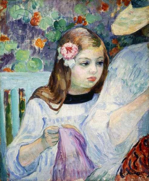 A Lesson in Dressmaking; La Lecon de Couture, 1905-1906 (oil on canvas)