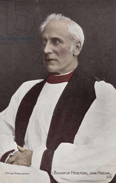 Bishop of Hereford, John Percival, DD (photo)