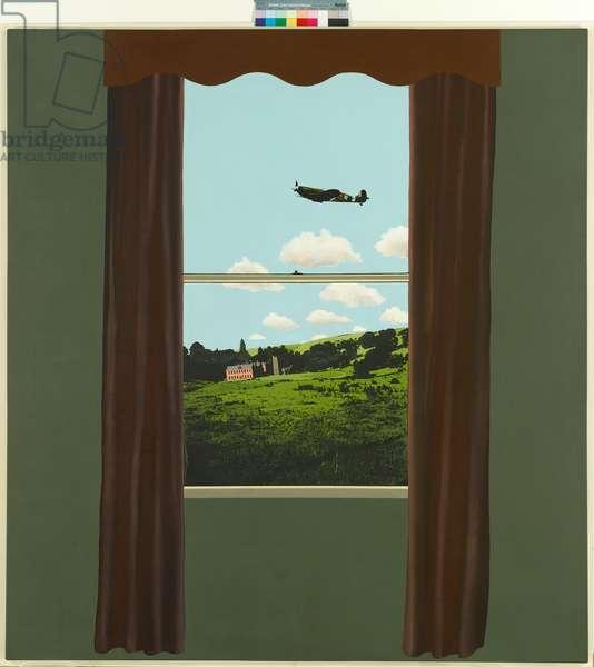 Window, 1968 (acrylic & oil on canvas)
