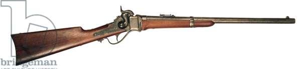 American Civil War, Sharps Model 1863  cavalry carbine