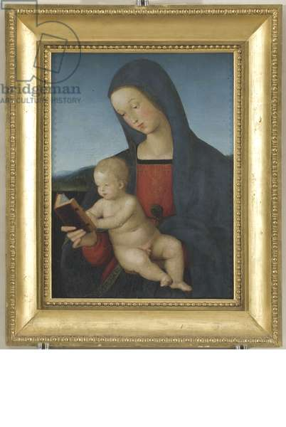 Madonna and Child, Our Lady of the book