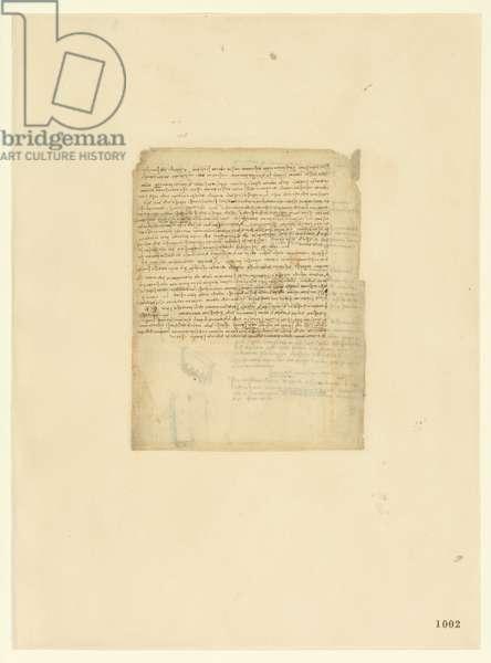 Codex Atlanticus, sheet 1002 recto