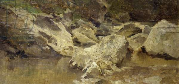 Brook, by Achille Formis Befani (1832-1906)