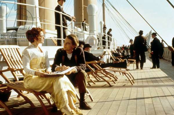 Titanic de JamesCameron avec Leonardo DiCaprio et Kate Winslet, 1997