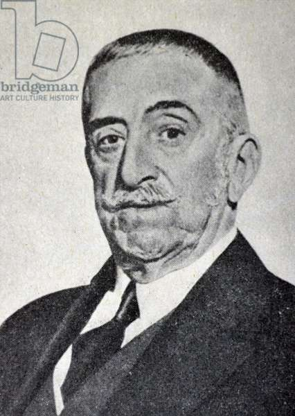 Spanish civil war : Admiral Juan Bautista Aznar