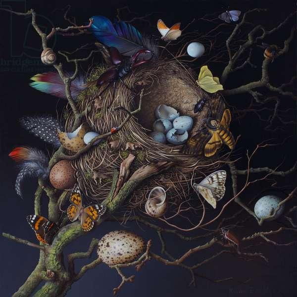 Fiddler's Hill Nest, 2013 (oil on canvas)