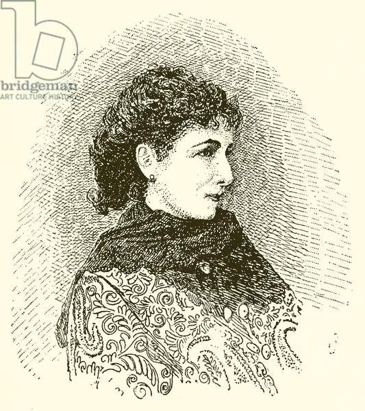 Sarah Bernhardt (engraving)