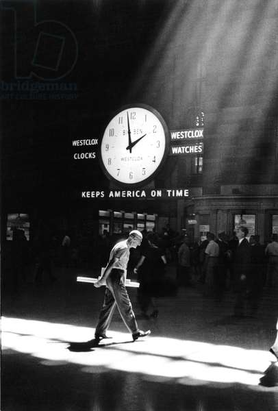 Grand Central Station, New York, 1960 (b/w photo)