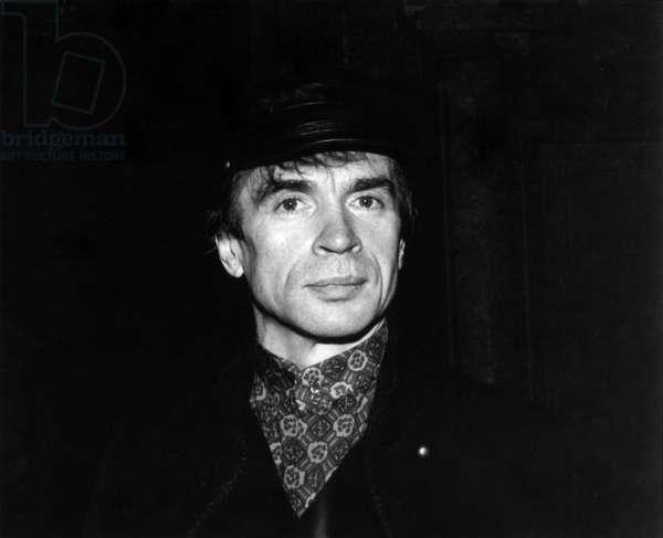 Rudolf Nureyev - portrait