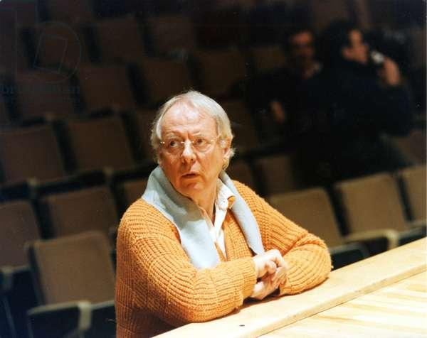 Karlheinz Stockhausen at the
