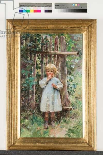 A Marauder, 1891 (oil on canvas)
