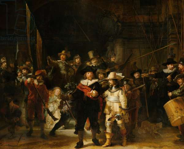The Nightwatch, 1642 (oil on canvas)