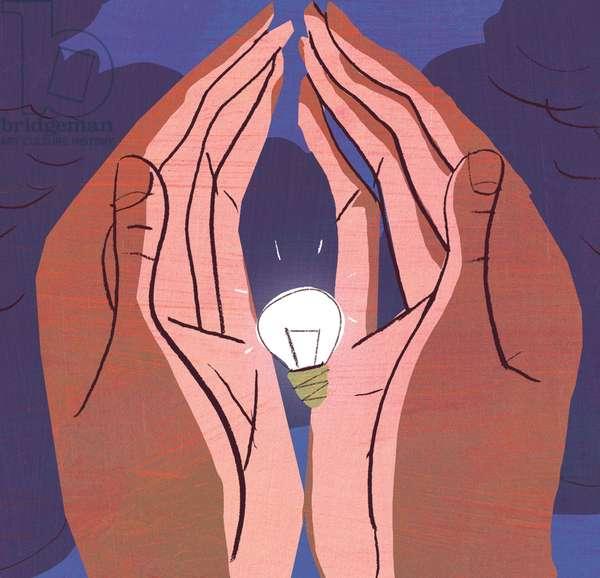 Nurturing Innovation, 2012, (mixed media)