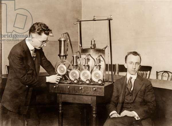 Psychological Examination Testing Device, Columbia University, New York, NY, US, c.1920 (silver gelatin print)