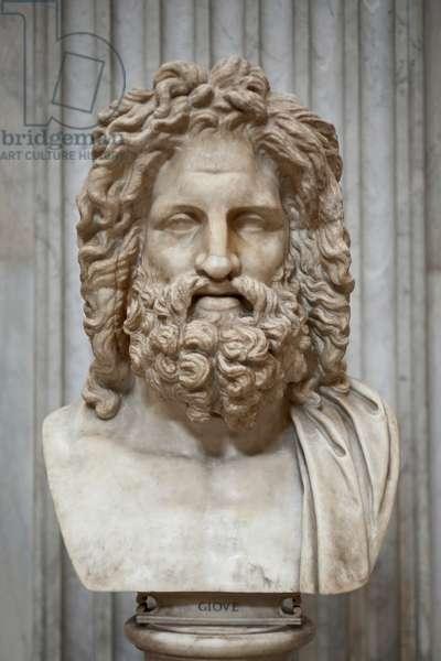 Head of Jupiter from Otricoli (marble)