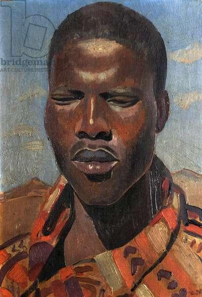 The Zulu, 1930 (oil on wood)