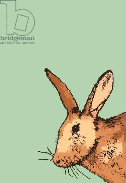 Hare, 2014 (monoprint)