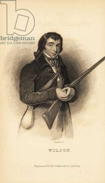 Alexander Wilson, Scottish American ornithologist, naturalist and poet, 1766-1813