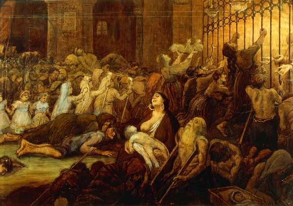 The Sanctuary of Casalbordino (for The Triumph Of Death Of Gabriele d'Annunzio), 1896