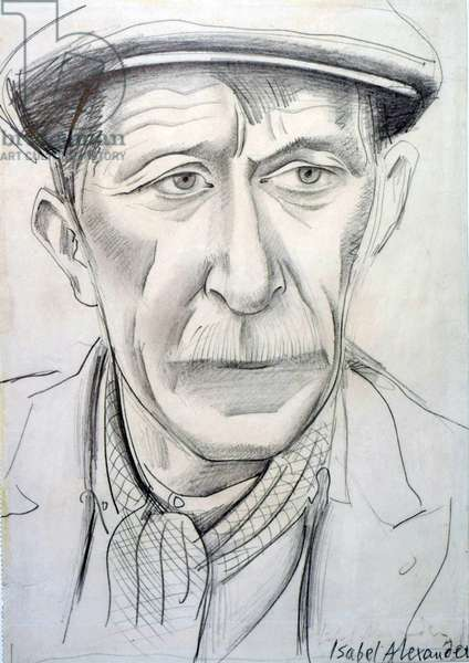 FM, a Disabled Miner, 1944 (pencil)
