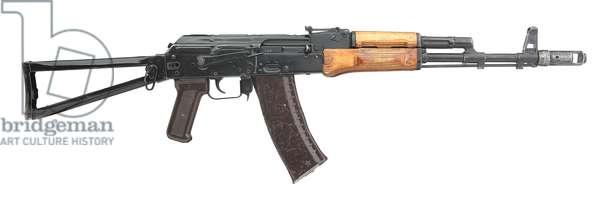 Kalashnikov AKS-74, 1980 (wood & metal)