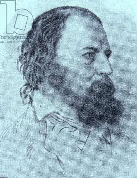 Alfred Tennyson (the first Lord Tennyson)
