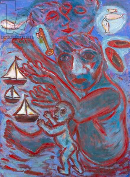 Treasury, 1985 (oil on canvas)