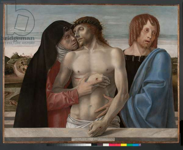 Pieta, c.1460 (tempera on wood)