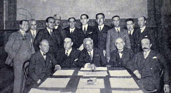 Spanish civil war: The progressive minority
