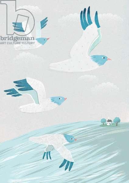Migration, 2015 (digital)