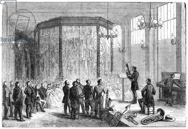SAX IN SHOWROOM 1864
