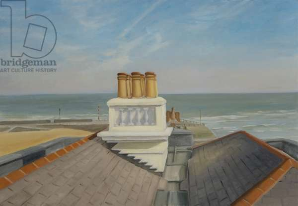 Chimneys, Broadstairs (oil on canvas)