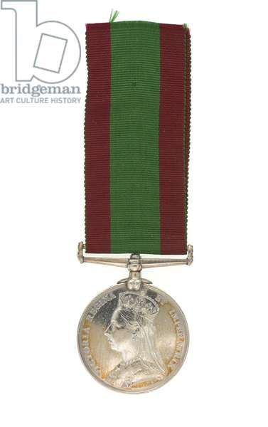 2nd Afghan War Medal 1878-80, awarded to Major General Euston Henry Sartorius, 59th (2nd Nottinghamshire) Regiment (metal)